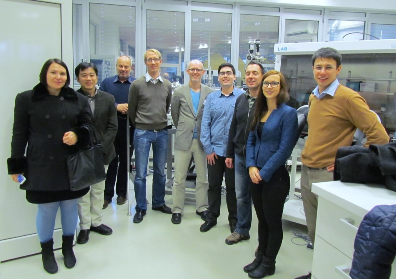 Enpiezo team meeting at JSI